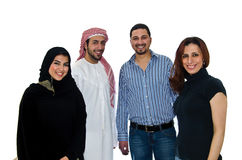 阿拉伯夫妇 库存照片