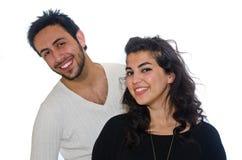 阿拉伯夫妇 免版税库存图片