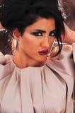 阿拉伯女孩 库存照片