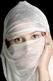 阿拉伯女孩 库存图片