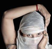 阿拉伯女孩 免版税图库摄影