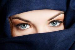 年轻阿拉伯妇女 免版税库存图片