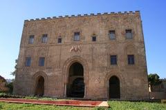 阿拉伯宫殿巴勒莫zisa 免版税库存照片