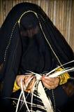 阿拉伯工艺妇女 库存照片