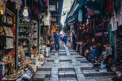 阿拉伯市场在耶路撒冷 免版税库存图片