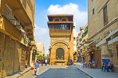 阿拉伯开罗建筑学  免版税库存照片