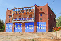阿拉伯房子在摩洛哥 免版税库存图片
