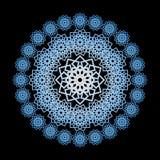 阿拉伯抽象商标 免版税库存照片
