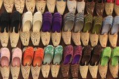阿拉伯拖鞋 库存图片