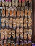 阿拉伯拖鞋 免版税图库摄影