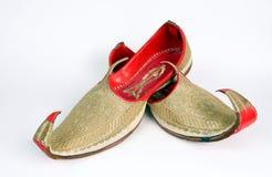 阿拉伯拖鞋 库存照片