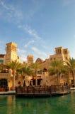 阿拉伯旅馆jumeirah madinat手段 库存图片