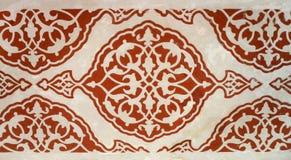 阿拉伯无缝的装饰品纹理背景 库存照片