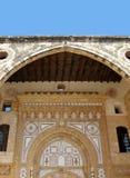 阿拉伯曲拱 库存照片