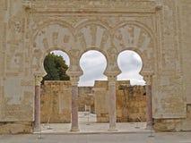 阿拉伯曲拱 库存图片