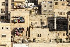 阿拉伯村庄 库存照片