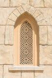 阿拉伯样式做了大厦窗口 免版税库存图片