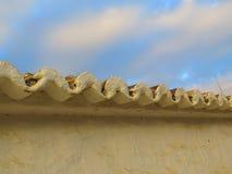 阿拉伯样式屋顶 库存照片