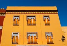 阿拉伯样式的老房子在科多巴西班牙 库存图片