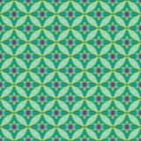 阿拉伯模式 无缝的背景 库存图片
