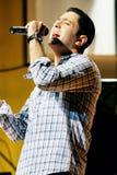 阿拉伯歌手 免版税库存图片
