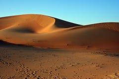 阿拉伯沙丘沙子 免版税库存图片