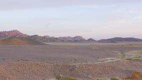阿拉伯沙漠的全景 影视素材