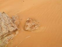 阿拉伯沙漠细节 库存图片