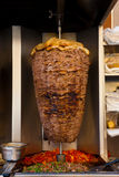阿拉伯烹调东部羊羔肉中间唾液 免版税库存图片