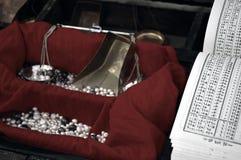 阿拉伯珠宝贸易商 库存照片