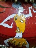阿拉伯瓦器绘的艺术 免版税库存图片
