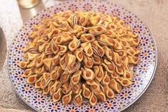 阿拉伯甜点 免版税库存图片
