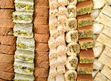 阿拉伯甜点 免版税库存照片