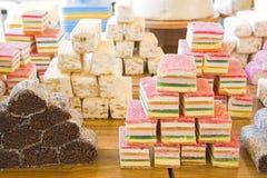 阿拉伯甜点 图库摄影