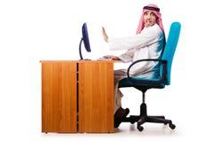 阿拉伯生意人 库存照片