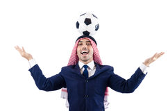 阿拉伯生意人 库存图片