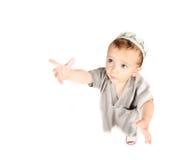 阿拉伯男孩逗人喜爱的矮小的穆斯林 免版税库存照片