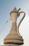 阿拉伯精心制作的喷泉 免版税图库摄影