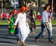 阿拉伯联合酋长国国庆节游行 库存照片