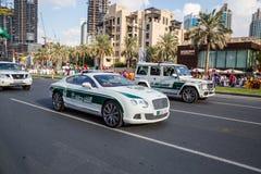 阿拉伯联合酋长国国庆节游行 免版税库存图片