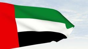 阿拉伯联合酋长国旗子,阿拉伯联合酋长国动画旗子,阿拉伯联合酋长国录影旗子 影视素材