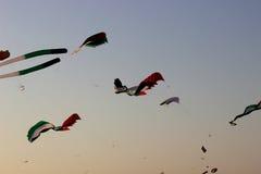 阿拉伯联合酋长国风筝 免版税图库摄影