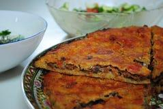 阿拉伯肉馅饼 免版税库存图片