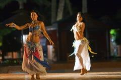 阿拉伯舞蹈演员 库存图片