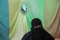 阿拉伯节日在雅加达 免版税库存图片