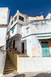 阿拉伯街道,唐基尔,摩洛哥老麦地那  库存图片