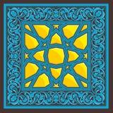 阿拉伯装饰品 免版税库存照片