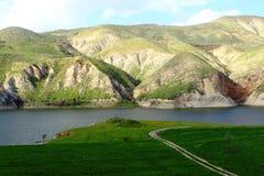 阿拉伯谷水坝 免版税库存照片