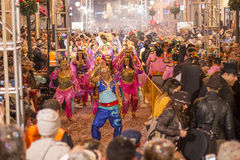 阿拉伯跳舞 库存图片