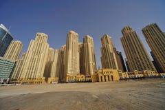 阿拉伯迪拜酋长管辖区jumeirah团结了 免版税库存图片